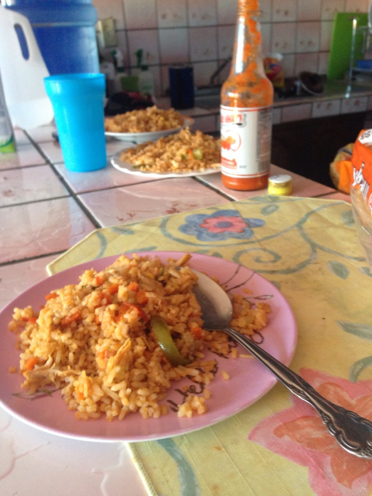 Rice for breakfast