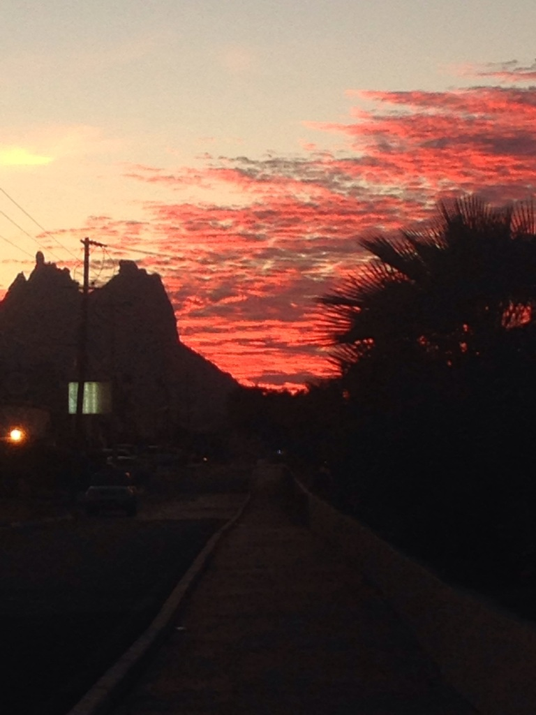 Our last sunset. San Carlos, Sonora, MX